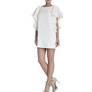 BCBGMAXAZRIA Solace Ruffle Sleeve Dress